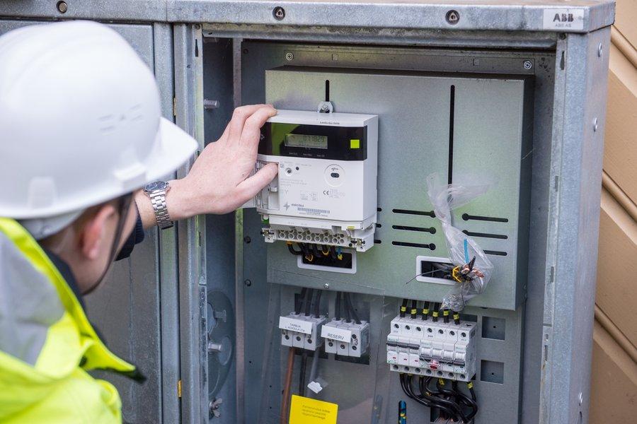 Электрический счётчик электроэнергии СПБ