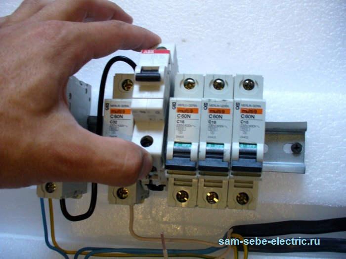 Автоматический выключатель СПБ